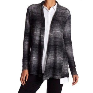 Eileen Fisher Open Knit Cardigan Sweater Large L